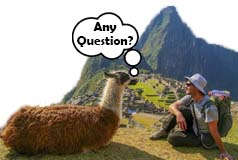 Sacred Valley Tour Questions